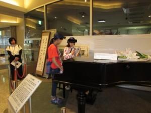 ピアノと子ども